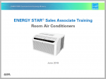 ENERGY STAR Room Air Conditioner Sales Associate Training 2019