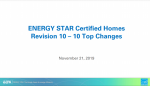 ENERGY STAR Certified Homes Revision 10 for Partners thumbnail