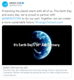 Earth Day Video Share mockup