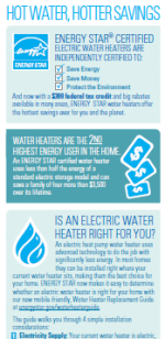 ENERGY STAR Electric Water Heater Infographic thumbnail