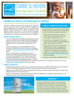 Flip your Fridge Factsheet - Spanish thumbnail