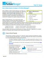 """First page of """"How to Benchmark a Campus"""""""