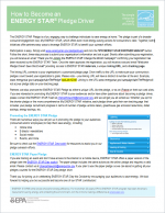 thumbnail of How to Become an ENERGY STAR Pledge Driver