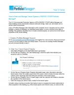 Screen shot of first page of How to Enter and Manage Tenant Spaces in ENERGY STAR® Portfolio Manager®
