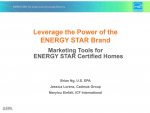 Leverage the Power of the ENERGY STAR Brand to Gain Market Advantage thumbnail