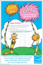 thumbnail of the Lorax Helper Checklist Poster