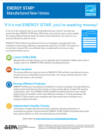 ENERGY STAR Manufactured New Homes Flyer