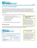 An overview of Portfolio Manager