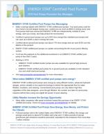 Pool Pumps Key Messaging 2019 thumbnail