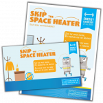 Skip the space heater