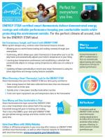 Smart Thermostat Factsheet - Spring thumbnail