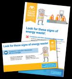 spot energy waste: plug load