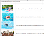 Suggested Pool Pump Stock Image Selections