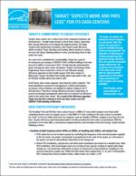 thumbnail of Target Data Center Case Study cover