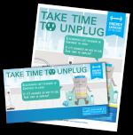 Unplug unused electronics activity kit