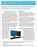 thumbnail of the Verizon Power Management Case Study