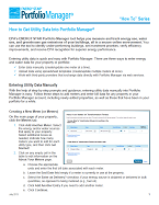 How to get utility data into Portfolio Manager