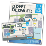 Don't Blow It activity kit