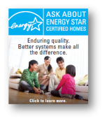 ENERGY STAR Certified Homes Web Button