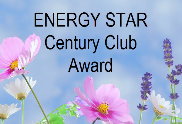 ENERGY STAR Century Club Award