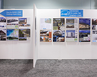 Photo of an ENERGY STAR booth