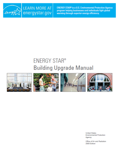 Cover of the energy star building upgrade manual