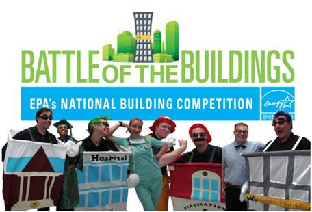 ENERGY STAR partner Servidyne created mascots to represent different building types in the ENERGY STAR National Building Competition