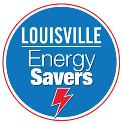 Logo for Louisville Energy Savers - In Partnership with AEP Ohio