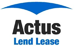 Logo for Actus Lend Lease
