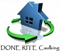 Logo for DONE RITE Caulking