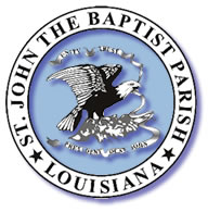 Logo for St. John the Baptist Parish, LA