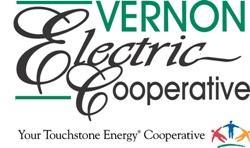 Logo for Vernon Electric Co-op